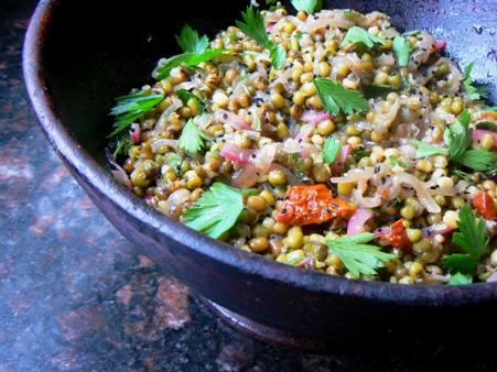 Nawal's Vegan Mung & Eggplant Salad – All Nutrition inOne…
